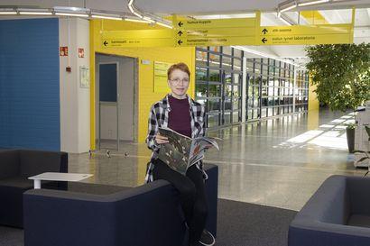"""Oulun ylioppilaslehden uusi päätoimittaja Iida Putkonen haluaa tehdä moniäänistä lehteä –""""Toivon lehden palvelevan myös ammattikorkeakoulun opiskelijoita"""""""