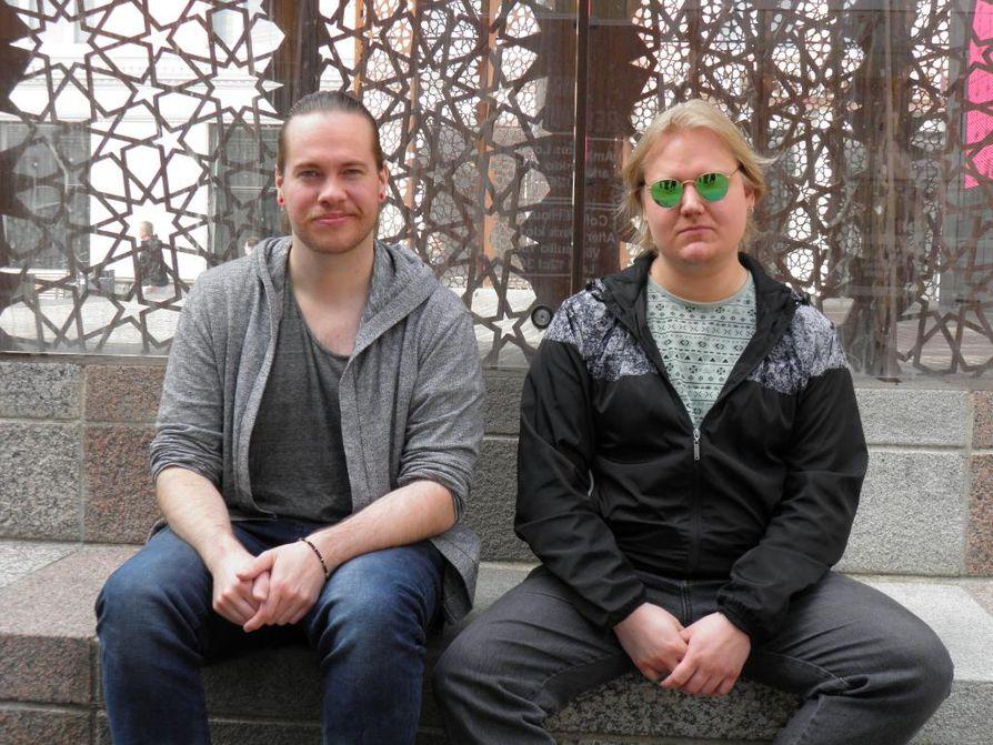 Niklas Westerlund ja Ari Eloranta ovat Survive the Silencen perustajajäsenet.