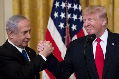 Israelin ja Arabiemiraattien välille syntyivät historiallisesti diplomaattisuhteet Donald Trumpin välityksellä – Israel pidättäytyy alueliitoksista miehittämästään Länsirannasta
