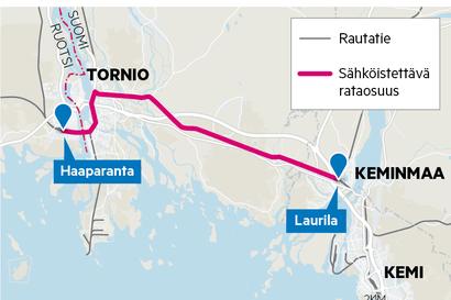 """Laurilan ja Tornion välisen rautatien sähköistys varmistui – """"Aletaan panna pystyyn toteutusorganisaatiota"""""""