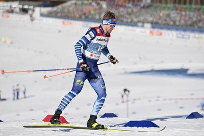 Mitaleista saatiin hyvä meininki MM-joukkueeseen - Suomen kvartetti valmistautuu levollisena ja luottavaisena miesten 15 kilometrin yhteislähtöön