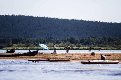 Kesäkuu oli poikkeuksellisen lämmin suuressa osassa maata – Viilein lämpötila mitattiin Kilpisjärven Saanalla