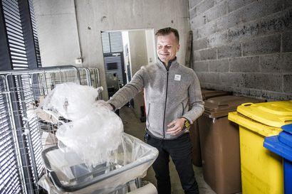 Levin biojäte päätyy poltettavaksi Ouluun ja Kiirunaan – kierrättämistä vaikeuttavat pakkanen, pitkät välimatkat ja alueen sesonkiluonteisuus