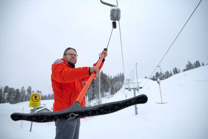 Näitä ei löydy montaa koko Suomesta: Taivalvaaran hyppyrimäet ovat huippukunnossa ja laskettelurinteet sopivat etenkin vasta-alkajille