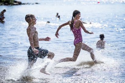 Miten olet selvinnyt paahtavasta kuumuudesta? Lähetä meille kesäinen hellekuva!
