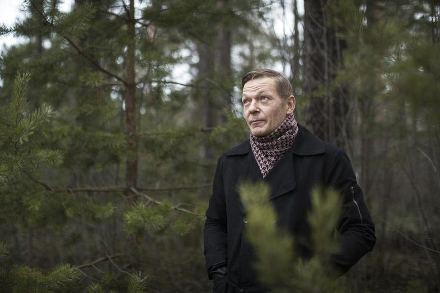 Petri Luukkonen uskoo yhteismetsänsä poikkeavan muista sen luontoystävällisyytensä vuoksi.