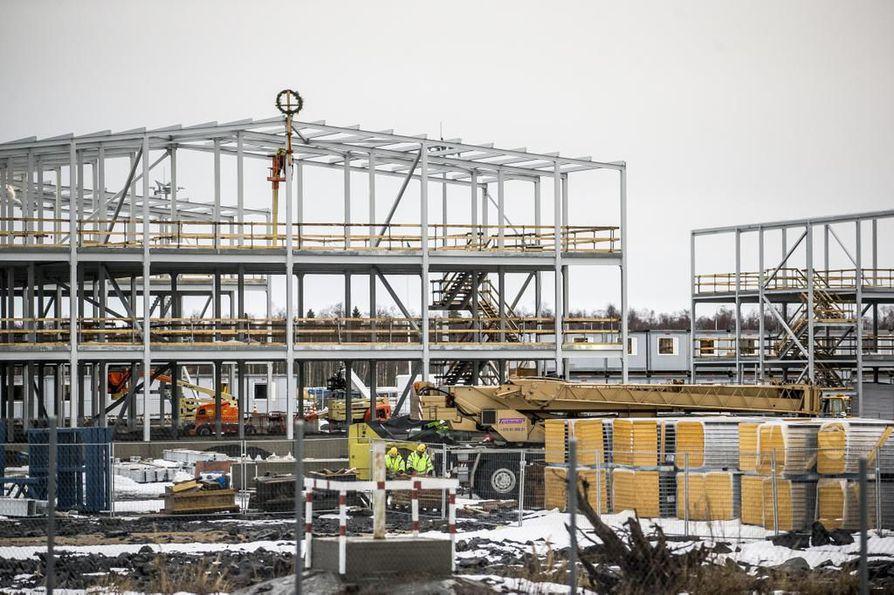 Energiayhtiö Fennovoima suunnittelee ydinvoimalan rakentamista Pyhäjoen Hanhikivenniemelle.