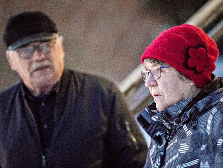 Jukka Tolonen ja Annikki Oikarinen löysivät helposti ehdokkaansa.