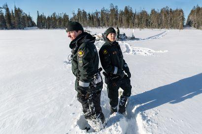 """Venäjä neljällä suunnalla – Kuusamon itärajalla on maantieteellisesti ainutlaatuinen kolkka, jonne pääsevät vain rajavartijat: """"Horjahdus tarkoittaisi valtiorajarikkomusta"""""""