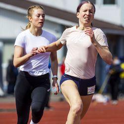 Elisabet Salmela pinkoi 100 metrin ennätyksensä Pudasjärvellä – Johanna Peiponen voitti 5000 metriä