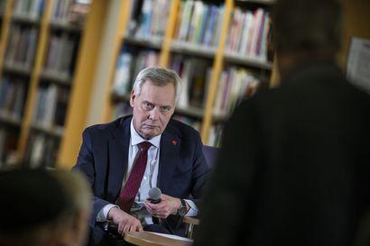Mitä raahelaiset lauloivat pääministerille – Katso video