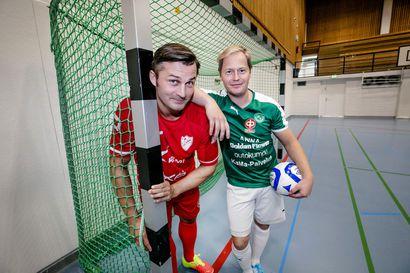 FC Kemin ja ToPV:n kapteenit odottavat innolla futsal-liigan hegemoniapelejä