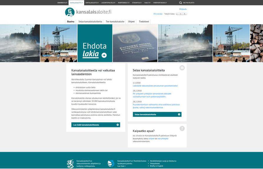 Aloite vakuutuslääkärin arvion painoarvon muuttamisesta on julkaistu Kansalaisaloite.fi-palvelussa.