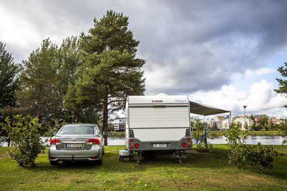 Rovaniemen leirintäalueen oikea paikka on Napapiiri