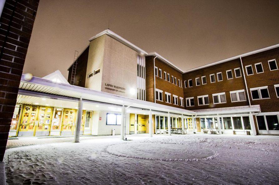 Lapin yliopiston päärakennus valmistui vuonna 1987.