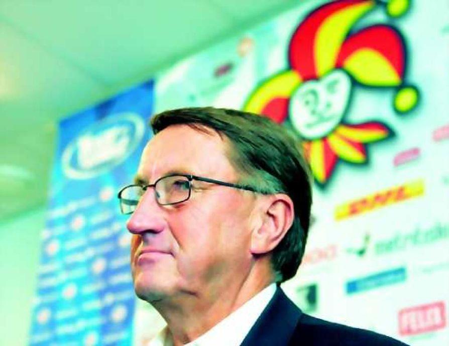 Curt Lindström on Jokereiden uusi päävalmentaja.