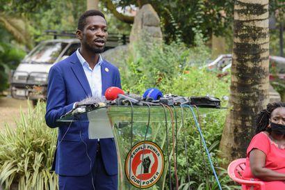 Ugandan presidentti julistettiin vaalivoittajaksi kuudennelle kaudelleen – kotiinsa armeijan saartama oppositioehdokas syyttää vaalivilpistä