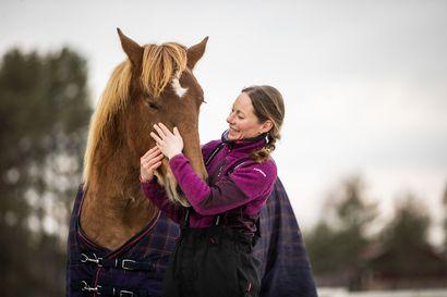 """Unelma tulee todeksi – lumijokinen Mari Leinonen aloittaa vuoden alussa työnsä toiveammatissaan ravivalmentajana: """"Kaiken lähtökohta on, että hevosilla on hyvä olla"""""""