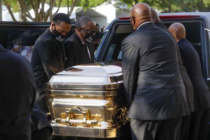 Poliisin surmaama George Floyd haudataan Yhdysvalloissa tänään