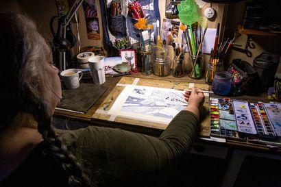 Vapaa ja kokeileva taiteilija