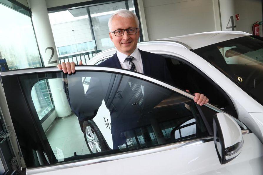 Valmet Automotiven toimitusjohtajan Ilpo Korhosen mukaan tehtaan työllisyysnäkymät ovat hyvät useamman vuoden ajan.