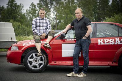 """Oululaiset Marko Ipatti ja Kari Kajula juhlivat 20 vuotta sitten Englannin rallimestaruutta – """"Asetelma oli kuin Daavid vastaan Goljat"""""""