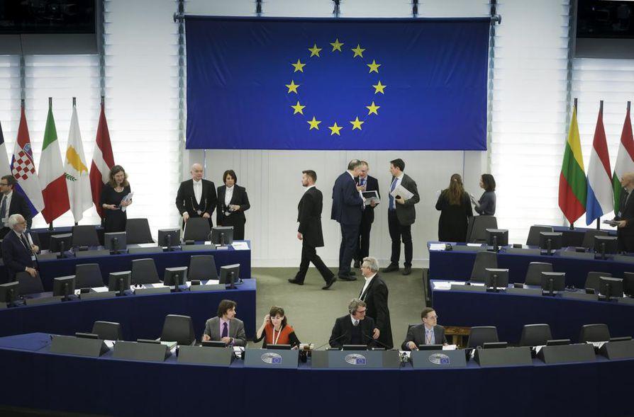 Euroopan parlamenttivaalit käydään toukokuun 26. päivä. Parlamentti työskentelee Belgian Brysselissä Ranskan Strasbourgissa (kuvassa).