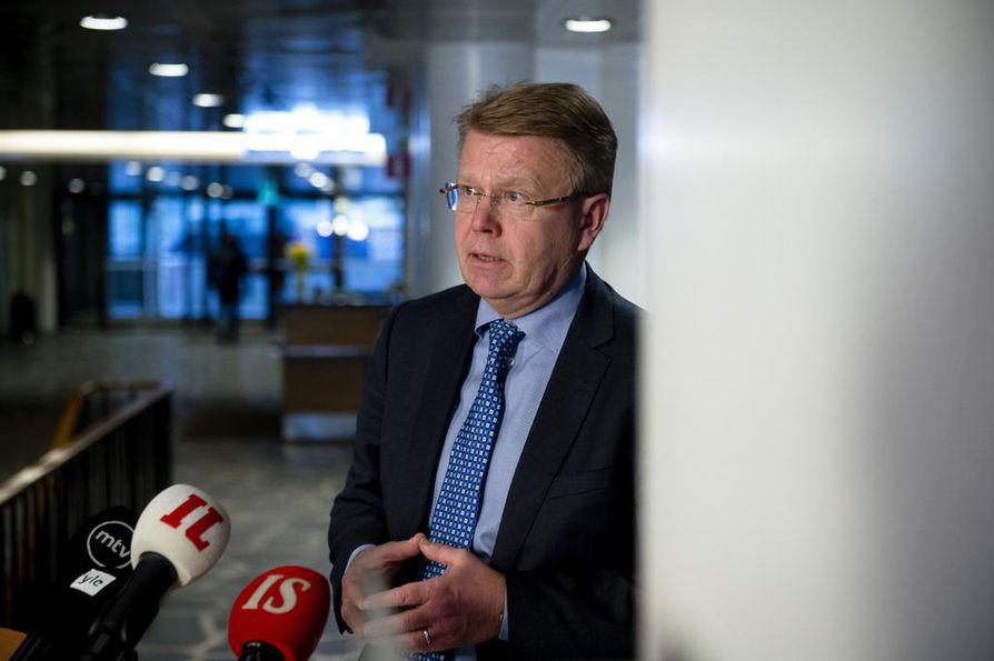 Elinkeinoelämän keskusliiton toimitusjohtajan Jyri Häkämiehen mielestä työllisyyden kannustinloukkuja pitäisi poistaa. Yksi kannustinloukku hänestä ovat korkeat päivähoitomaksut. Arkistokuva.