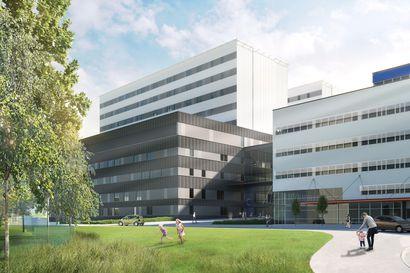 OYSin sairaalahankkeen toinen vaihe hyväksyttiin valtioneuvoston raha-asianvaliokunnassa – Oulun vaalipiirin kansanedustajat iloitsevat