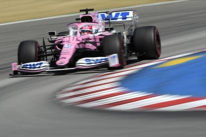 F1:n testit paljastivat yhden koronatartunnan