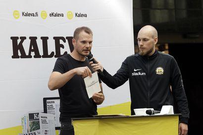 """61 A-maaottelun Markus Heikkinen arpoi Kaleva Cupin lohkot: """"Pelaajasta huomaa, onko hän täysillä mukana"""""""