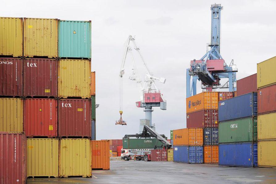 Oulun satama on yksi niistä satamista, jota perjantaina peruuntunut lakko uhkasi.