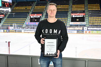 """Kärppäikoni Lasse Kukkonen on Vuoden oululainen ylivoimaisella äänisaaliilla –  """"Kyllähän tällainen tuntuu tosi hyvältä ja rehellisesti sanottuna vähän hämmentävältä"""""""