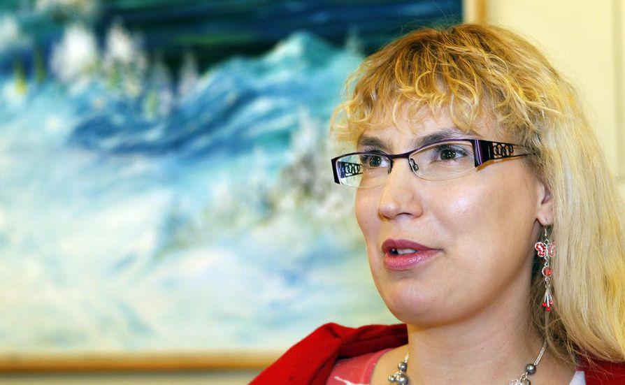 Katja Hänninen sai Raahessa 737 ääntä.