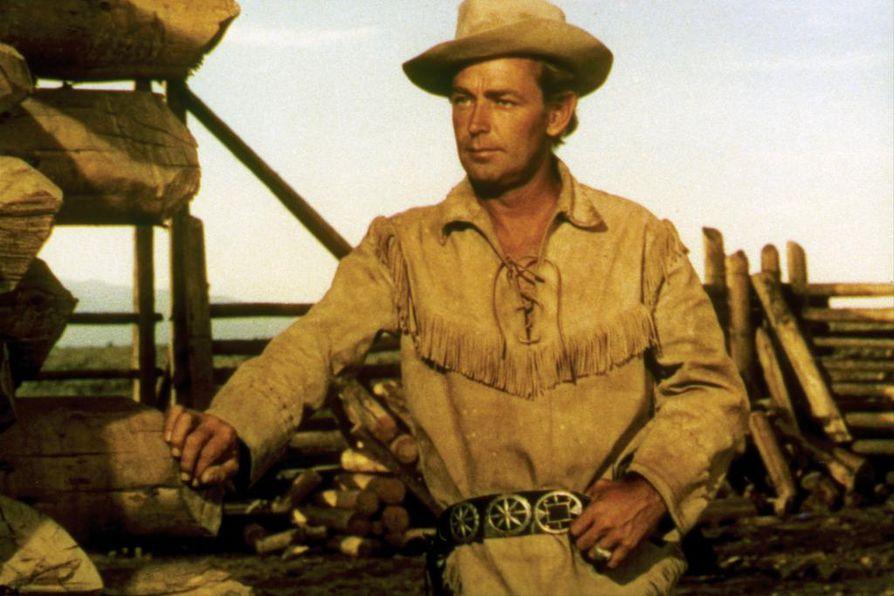 Alan Ladd on pääosassa lännenelokuvassa, jossa asesankari puolustaa uudisraivaajia rikkaan maanomistajan asemiehiä vastaan.
