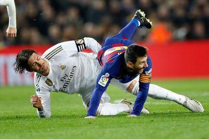 Barcelonan ja Real Madridin vääntö päättyi ratkaisemattomaan – maalit jäivät puuttumaan El Clasicosta