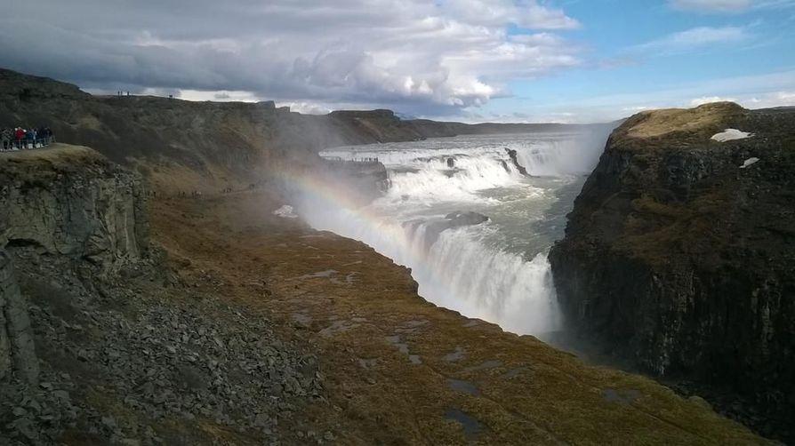 Gullfoss, Islannin kultainen putous.