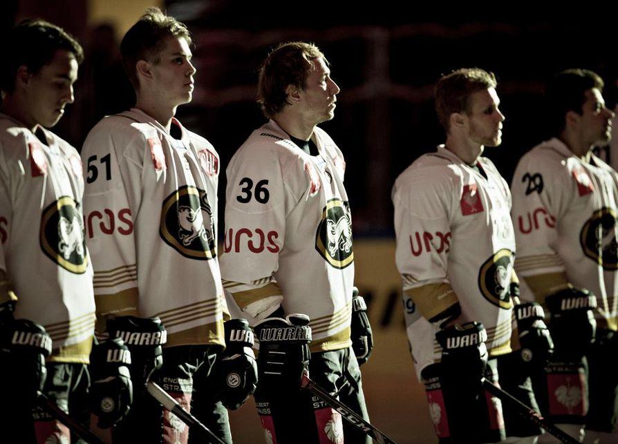 Kärpät pelasi tiistaina Mestarien liigaa Skellefteåssa.