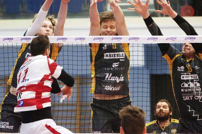 VaLePan Aaro Nikulan hurja vire Savo Volleyn turma, mestaruus ratkeaa tiistaina Pielavedellä