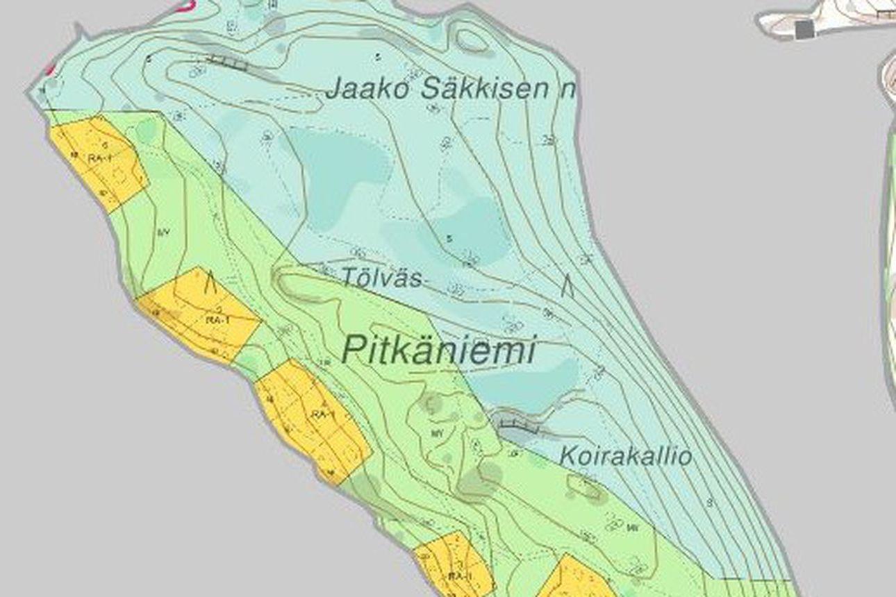 Metsähallitus on kaavoittanut Porontimajärvelle uusia tontteja - osa tonteista on loma-asumiseen ja osa iglurakentamiseen tarkoitettuja