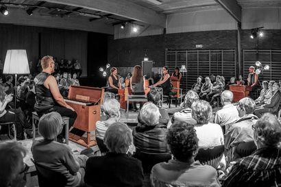 Marja-Liisa Orgelsuite soi kuuden harmoonin voimin