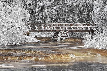 Napapiirin retkeilyalueelle valmistui uusi silta
