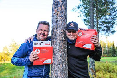 Golfin hyväntekeväisyyskisa keräsi 34 kilpailijaparia - Ounasvaaran golfkentällä pelataan ennätysmäärä kierroksia kuluvalla kaudella