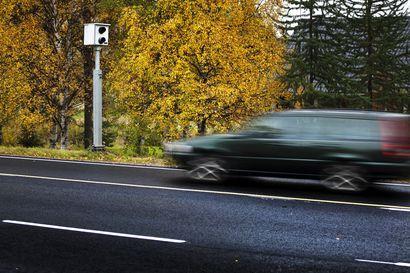 Nopeusvalvontakameroiden rakentaminen Tornion ja Pellon välille alkaa maanantaina