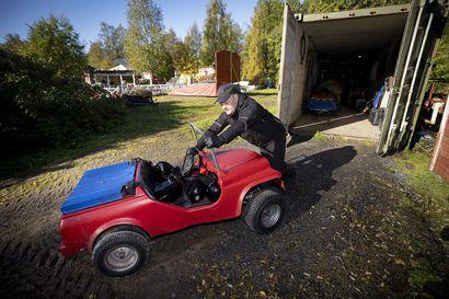 """Oululainen Kalle Komulainen odotti ja pelkäsi vuosia, miten hänen Vauhtipuistolleen käy: """"Tiukkaa on ollut, mutta perhe on auttanut jaksamaan vaikeuksien yli"""""""