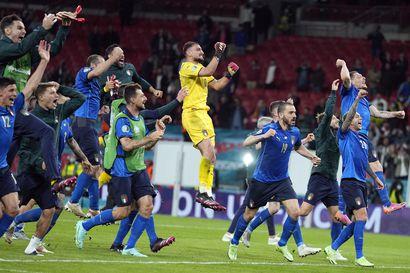 """Italian hämmästyttävä putki sai jatkoa – """"Kun Locatelli missasi ensimmäisen rankkarin, niin kaikki käskivät toisiaan pysymään rauhallisina"""""""