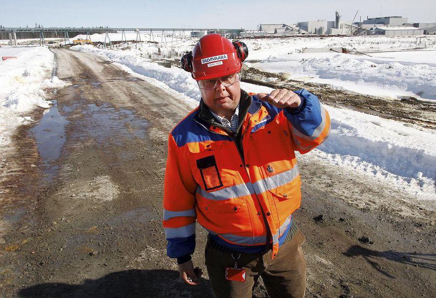 Talvivaaran Kaivososakeyhtiö henkilöityi Pekka Perään.