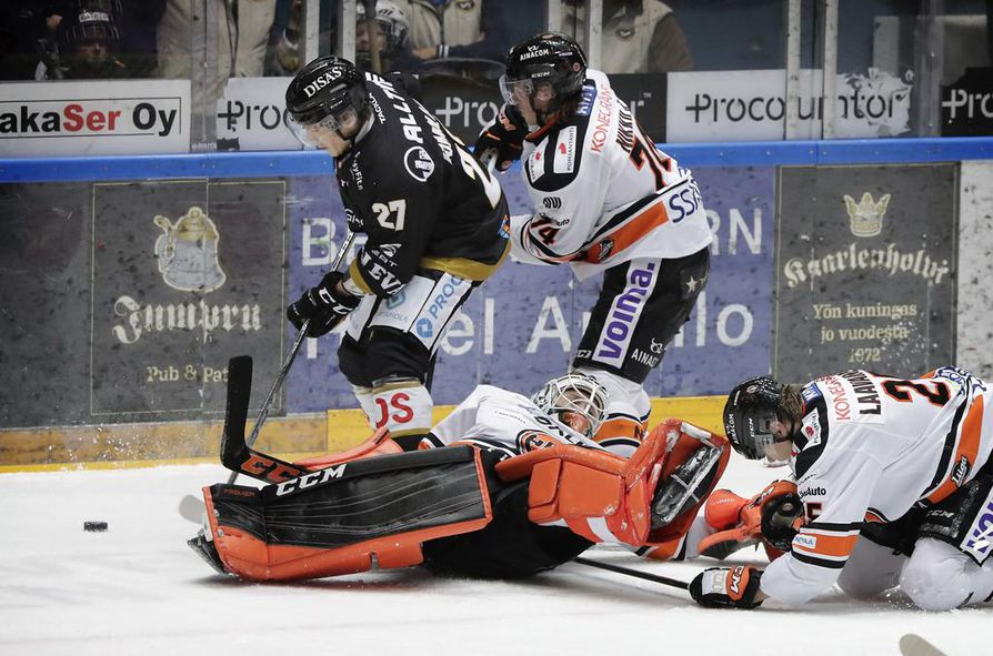 HPK sai nopean revanssin Kärpistä voittomaalikisan jälkeen lauantaina Oulussa.
