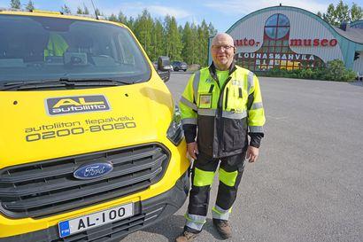 Autoliiton vuoden tiepalvelumieheksi valittiin oululainen Aulis Karppinen