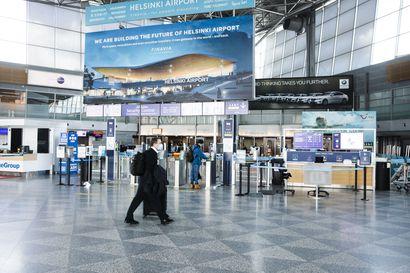 Helsinki-Vantaalle saapuu tällä hetkellä joka päivä riskimaista noin tuhat matkustajaa – viime päivinä riskimaista on tullut noin 30 lentoa päivässä